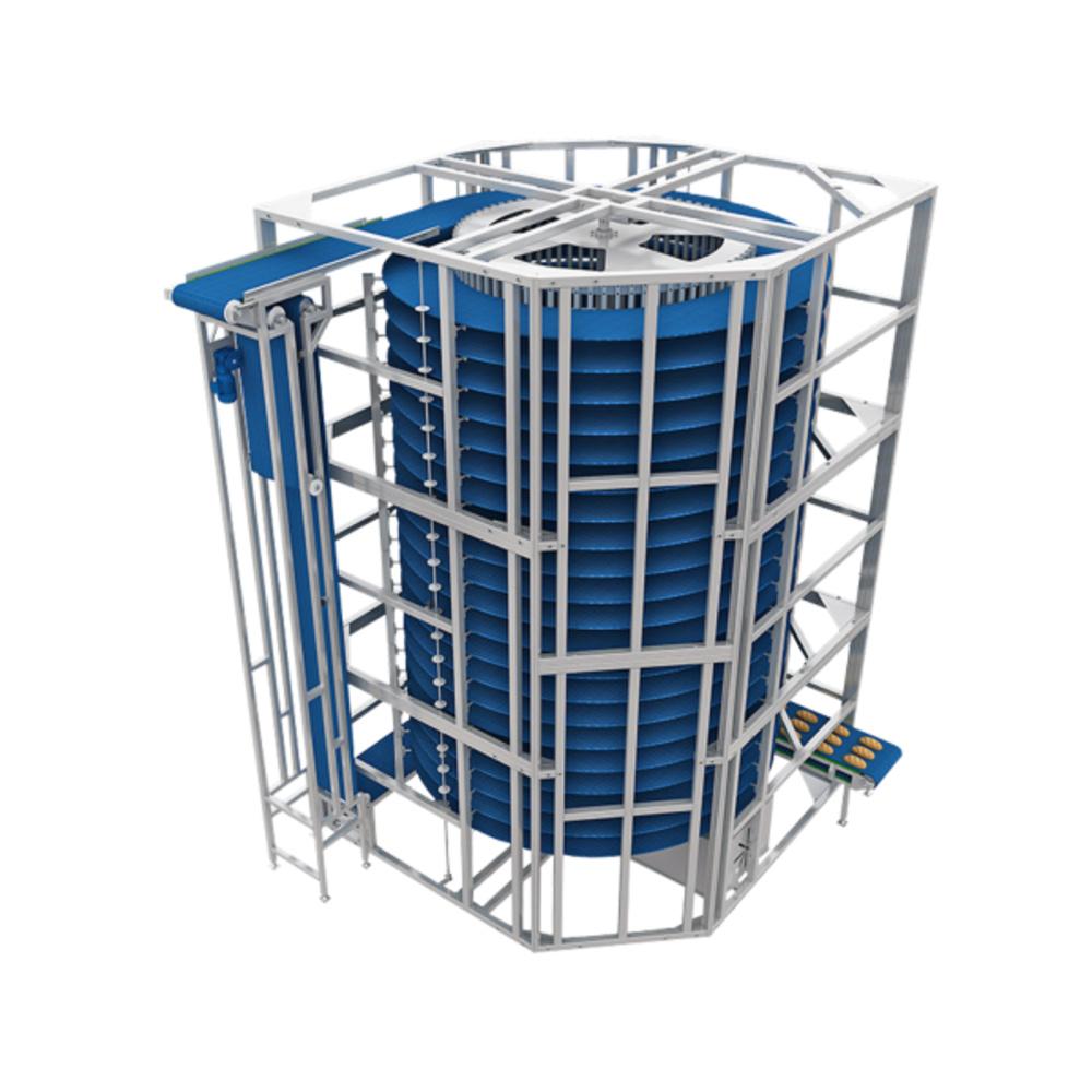 Спиральная охладительная башня